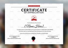 Soccer Certificate Templates For Word Soccer Appreciation Certificate Design Template In Psd Word