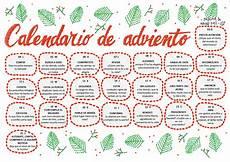 calendario de abviento parroquia la inmaculada calendario adviento 2017