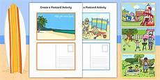 post card template twinkl create a postcard activity postcard postcard design