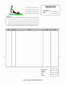 Lawn Care Invoice Lawn Care Invoice Template