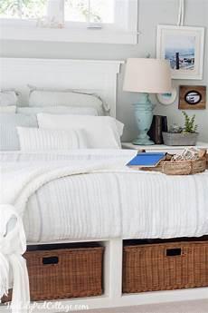 Cottage Bedrooms Master Bedroom Bedding The Lilypad Cottage