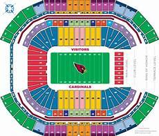 Cardinals Football Stadium Seating Chart 20 Images Arizona Cardinals Stadium Seating Chart