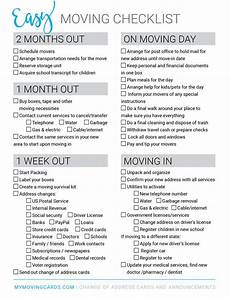 Printable Moving Packing Checklist Moving Checklist Free Printable Download Moving Checklist