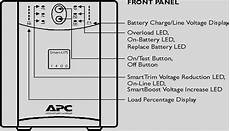 Apc Smart Ups 1000 Battery Charge Lights Error On Rack Mounted Ups Model Ap9630 Ups Management