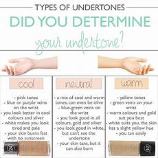 Revlon Colorstay Undertones Chart How To Determine Your Skin S Undertone Mateja S Beauty