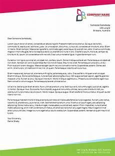 Business Letter Template Microsoft Word Letterhead Template Word Fotolip