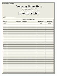 Stock Inventory Format Sample Inventory And Stock List Template Form Sample For Word