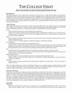Writing A College Application Essay Sample Literature Essay Outline Character Analysis Essay