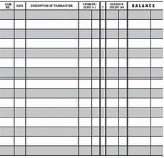 Printable Checkbook Register 5 Easy To Read Checkbook Transaction Register Large Print