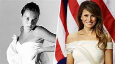 see photos of young melania trump s early career as a