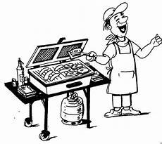 Malvorlagen Kostenlos Grillen Mann Beim Grillen 3 Ausmalbild Malvorlage Menschen