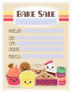 Bake Sale Poster Templates Free Bake Sale Printable Labels Set Worldlabel Blog