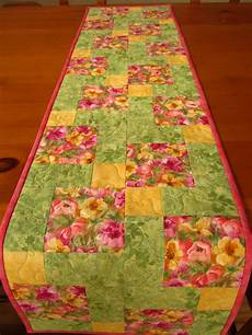 table runner quilted table runner patchwork