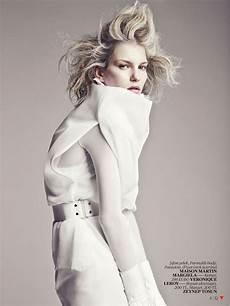 white fashion editorial for vogue turkey april 2013 3