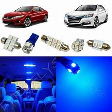 2017 Honda Accord Interior Lights 12x Blue Led Lights Interior Package Kit For 2013 2017
