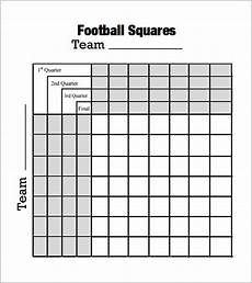 Football Square Template Free 7 Beautiful Sample Foot Ball Square Templates In Pdf
