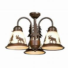 Aireryder Ceiling Fan Light Kit Aireryder Yellowstone 3 Light Burnished Bronze Ceiling Fan