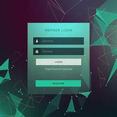 Free Login Template Download Creative Login Ui Template Form Design With Technology