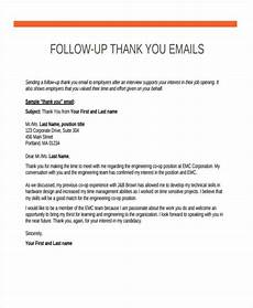 Follow Up Thank You Email Free 18 Thank You Email Examples Amp Samples In Pdf Doc