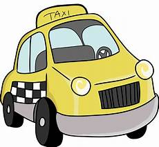 Taxi Yellow Light Clip Taxi Clipart Black And White Clipart Panda Free