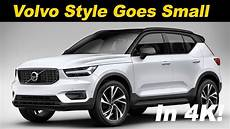 volvo 2019 xc40 review 2019 volvo xc40 review drive in 4k