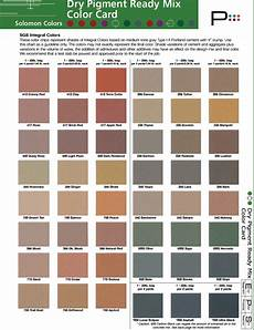 Solomon Mortar Color Chart Color Chart Gat Tenor