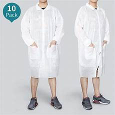 us 24 83 reliancer 10 pack disposable lab coats