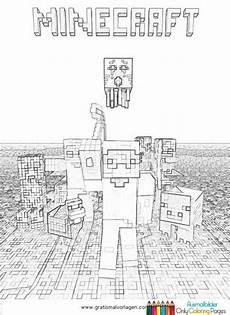 Malvorlagen Minecraft Creeper Minecraft Ausmalbilder Gratis Ausmalbilder