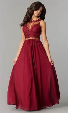 lace bodice wine prom dress promgirl