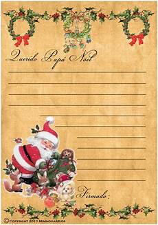 Cartas Para Papa Noel Minihogar Postcards