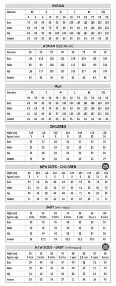 Measurement Charts Stoff Amp Stil Chart Measurement