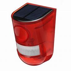 Solar Motion Sensor Light With Alarm Solar Alarm Light Wireless Waterproof Motion Sensor
