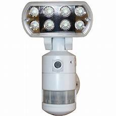 Led Flood Light With Camera Versonel Nightwatcher Pro Led Security Motion Tracking