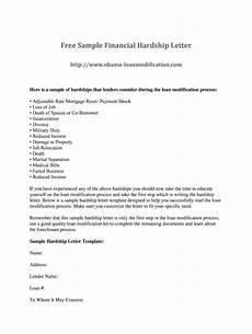Hardship Letter Loan Modification Hardship Letter For Loan Modification Sample