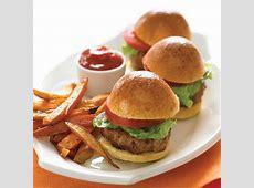 Mini Turkey Burgers Recipe