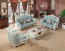luxury european leather sofa set living room sofa china