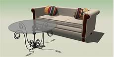 Sofa With Table 3d Image by Furniture Sofa Coffee Table 3d Model Sharecg