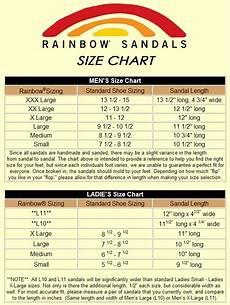 Rainbow Sandals Size Chart Mens Rainbow Sandals Size Chart Team One Newport