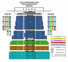 Okc Civic Center Seating Chart Countdown Promotions
