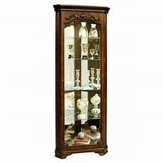 astoria grand kenric lighted corner curio cabinet