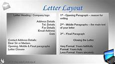 How To Format Letters How To Write An Open Business Reference Letter Youtube