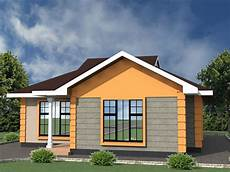 Two Bedroom House Low Cost 2 Bedroom House Plan In Kenya Hpd Consult