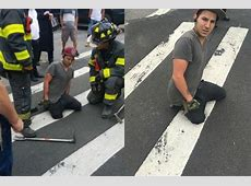 Man Gets Leg Stuck in Sinkhole on Bed Stuy Street, FDNY Says   Bed Stuy   New York   DNAinfo