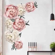 peony flowers wall sticker mural decals vinyl
