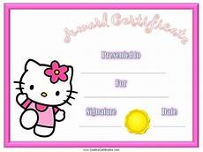 Free Certificate Template For Kids Pin By Kellie Easter On Printable Award Certificates