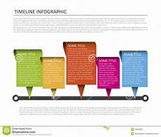 Horizontal Timeline Template Horizontal Timeline Template Stock Vector Image 40626820
