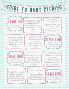 Baby Feeding Guide Diary Of A Fit Guide To Baby Feeding