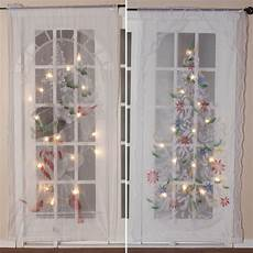 Led Light Curtains Sale Lighted Christmas Curtain Panel Led Curtain Miles Kimball