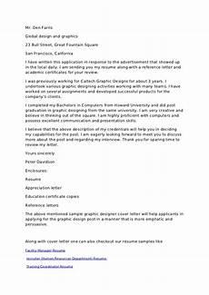 Cover Letter For I 751 Graphc Design Cover Letter