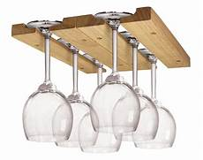 wine glass holder stemware rack cabinet wood storage